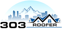 303 roofer logo