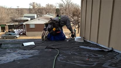 denver roofing installation by 303 roofer on a north denver new home