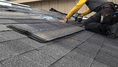 303 roofer providing denver roofing services on a new build in denver
