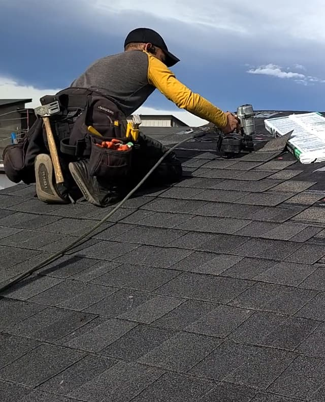 denver roof installation on a new build